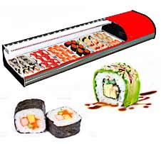 Vitrinas para Sushi