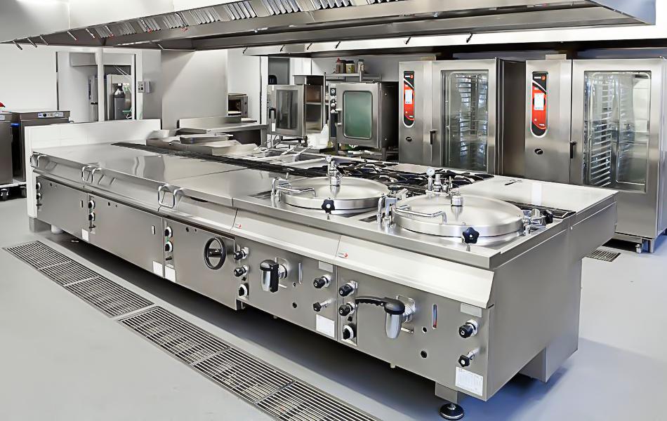 Cocina Industrial en Bares y Cafeterías